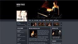 Pianistin Nora Tagle